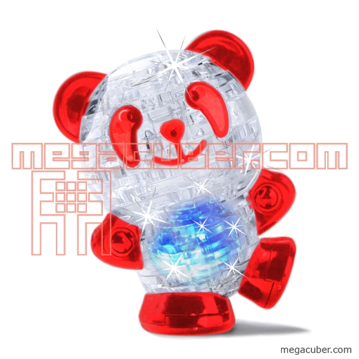 3d crystal puzzle panda instructions